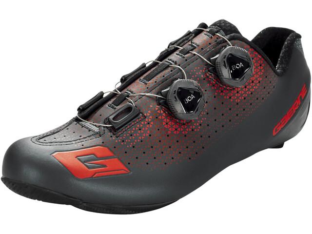 Gaerne Carbon G.Chrono Chaussures de cyclisme Homme, black/red